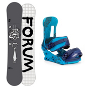 Forum Manual Snowboard and Binding Package 2013, 159cm, medium