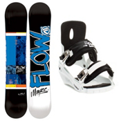 Flow Merc Snowboard and Binding Package 2013, , medium