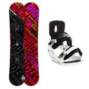Ride Kink Snowboard and Binding Package 2013, 152cm, medium