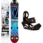 K2 Raygun Snowboard and Binding Package 2013