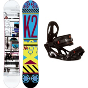 K2 Raygun Snowboard and Binding Package 2013, 156cm, medium