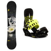 Forum The Contract Snowboard and Binding Package 2013, 146cm, medium