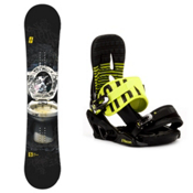 Forum The Contract Snowboard and Binding Package 2013, 148cm, medium