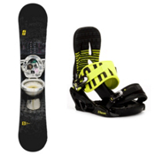 Forum The Contract Snowboard and Binding Package 2013, 150cm, medium