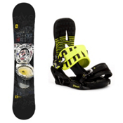 Forum The Contract Snowboard and Binding Package 2013, 152cm, medium