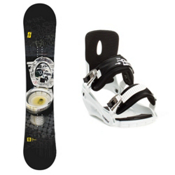 Forum The Contract Snowboard and Binding Package 2013, , medium