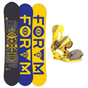 Forum The Honey Pot Snowboard and Binding Package 2013, , medium