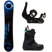 Black Fire Eclipse Complete Snowboard Package, , medium