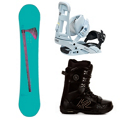 Forum Holy Moly II Complete Snowboard Package, 155cm, medium