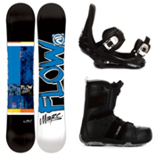Flow Merc Complete Snowboard Package, , medium