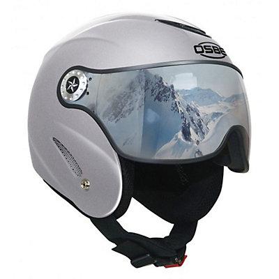 OSBE Proton SR Helmet, Metal Silver, viewer