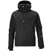 Salomon Fantasy II Mens Insulated Ski Jacket, Black, medium