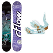 Flow Venus Womens Snowboard and Binding Package 2013, , medium