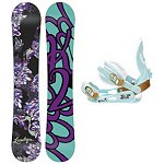 K2 Lunatique Womens Snowboard and Binding Package