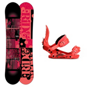 Ride Compact Womens Snowboard and Binding Package 2013, 147cm, medium
