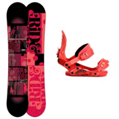 Ride Compact Womens Snowboard and Binding Package 2013, 150cm, medium
