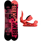Ride Compact Womens Snowboard and Binding Package 2013, 153cm, medium
