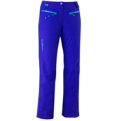 Salomon Speed Womens Ski Pants, Dark Violet Blue, medium