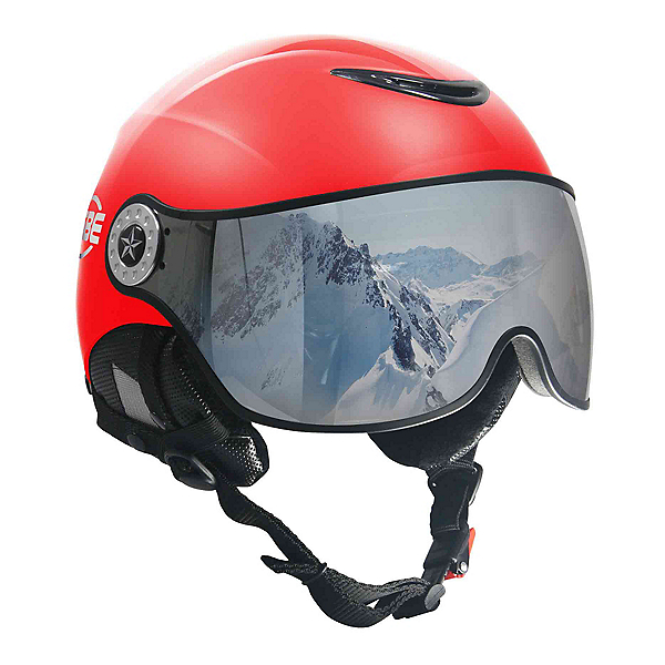 OSBE Proton Snow SR Helmet, Metal Red, 600