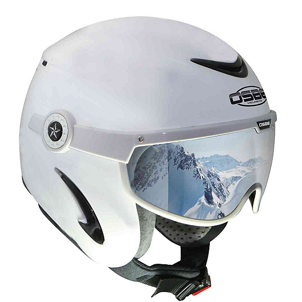 OSBE United Helmet, Shiny White, 600