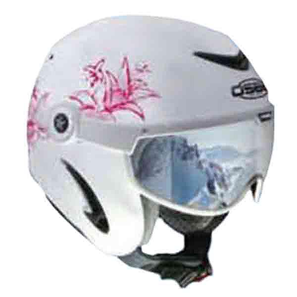 OSBE United Helmet, Flower White-Pink, 600