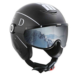OSBE United Helmet, Black-Whte, 256