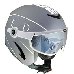 OSBE United Helmet, Grey-White, 256