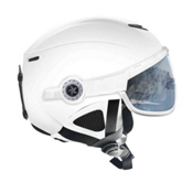 OSBE United Snow Helmet, Shiny White, medium