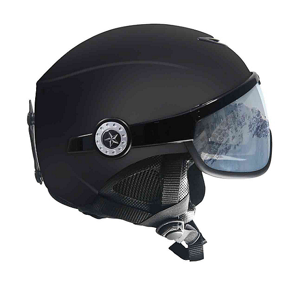 OSBE United Snow Helmet, Soft Black, 600