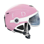 OSBE United Snow Helmet, Pink-White, medium