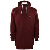 Armada Icon Bonded Tech Fleece Hoodie, Maroon, medium