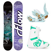 Flow Venus Womens Complete Snowboard Package 2013, , medium