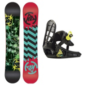 K2 Mini Twilight Kids Snowboard and Binding Package 2013, 110cm, medium