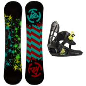 K2 Mini Twilight Kids Snowboard and Binding Package 2013, 120cm, medium