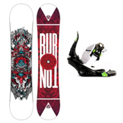 Burton TWC Smalls Kids Snowboard and Binding Package 2013, 132cm, medium