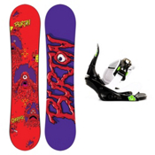 Burton Chopper Kids Snowboard and Binding Package 2013, 120cm, medium