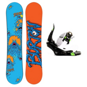 Burton Chopper Kids Snowboard and Binding Package 2013, 130cm, medium
