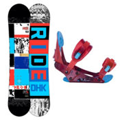 Ride DHK Kids Snowboard and Binding Package 2013, 142cm, medium