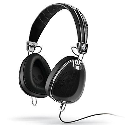 Skullcandy Aviator Headphones, Black, large