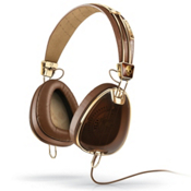 Skullcandy Aviator Headphones, Brown-Gold, medium