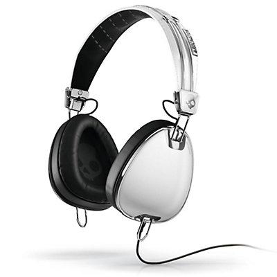 Skullcandy Aviator Headphones, White, large