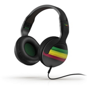 Skullcandy Hesh 2 Headphones, Rasta, medium
