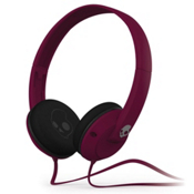 Skullcandy Uprock MICD Headphones, Plum, medium