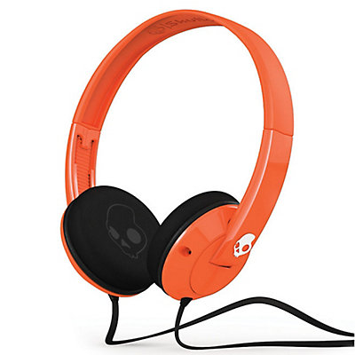 Skullcandy Uprock Headphones, Orange-White-White, large