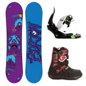 Burton Chopper Kids Complete Snowboard Package 2013, 115cm, medium