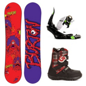 Burton Chopper Kids Complete Snowboard Package 2013, 120cm, medium