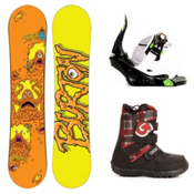 Burton Chopper Kids Complete Snowboard Package 2013, 125cm, medium