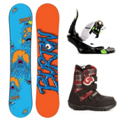 Burton Chopper Kids Complete Snowboard Package 2013, 130cm, medium