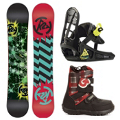 K2 Mini Turbo Kids Complete Snowboard Package 2013, 110cm, medium