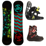 K2 Mini Turbo Kids Complete Snowboard Package 2013, 120cm, medium